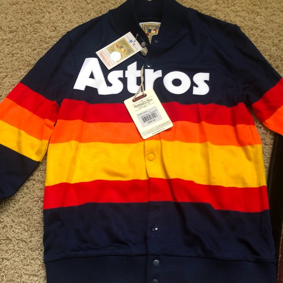 6c117e8d Mitchell & Ness Sweaters | Houston Astros 1986 Sweater Mitchell Ness ...